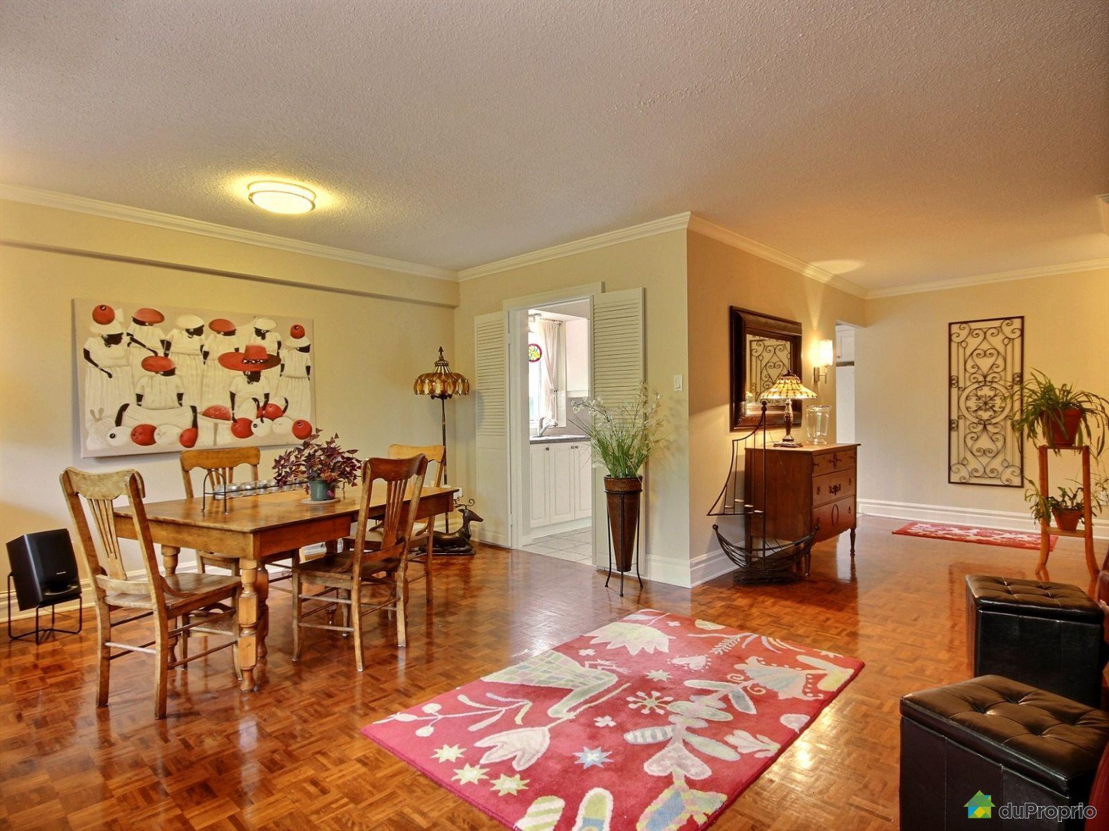 Condo vendre st lambert 415 40 rue du rh ne immobilier for Salle a manger a vendre
