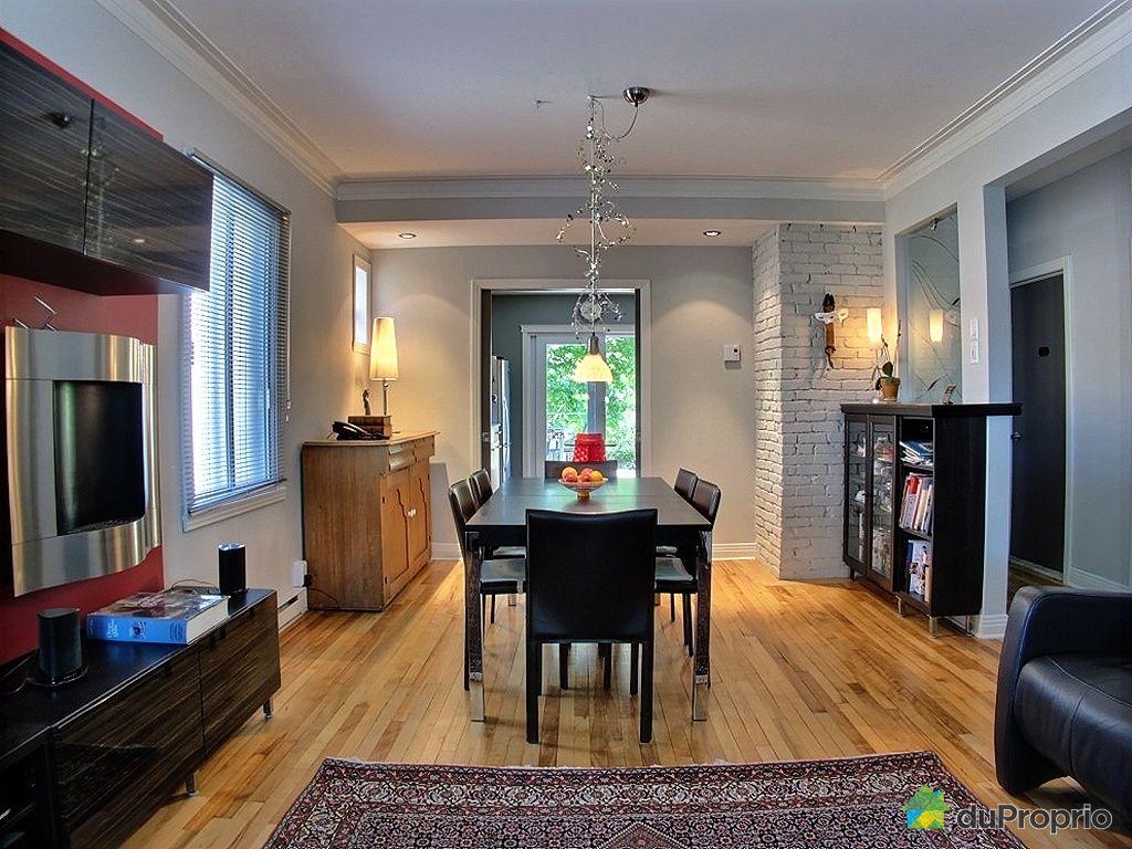 duplex vendu montr al immobilier qu bec duproprio 420132. Black Bedroom Furniture Sets. Home Design Ideas