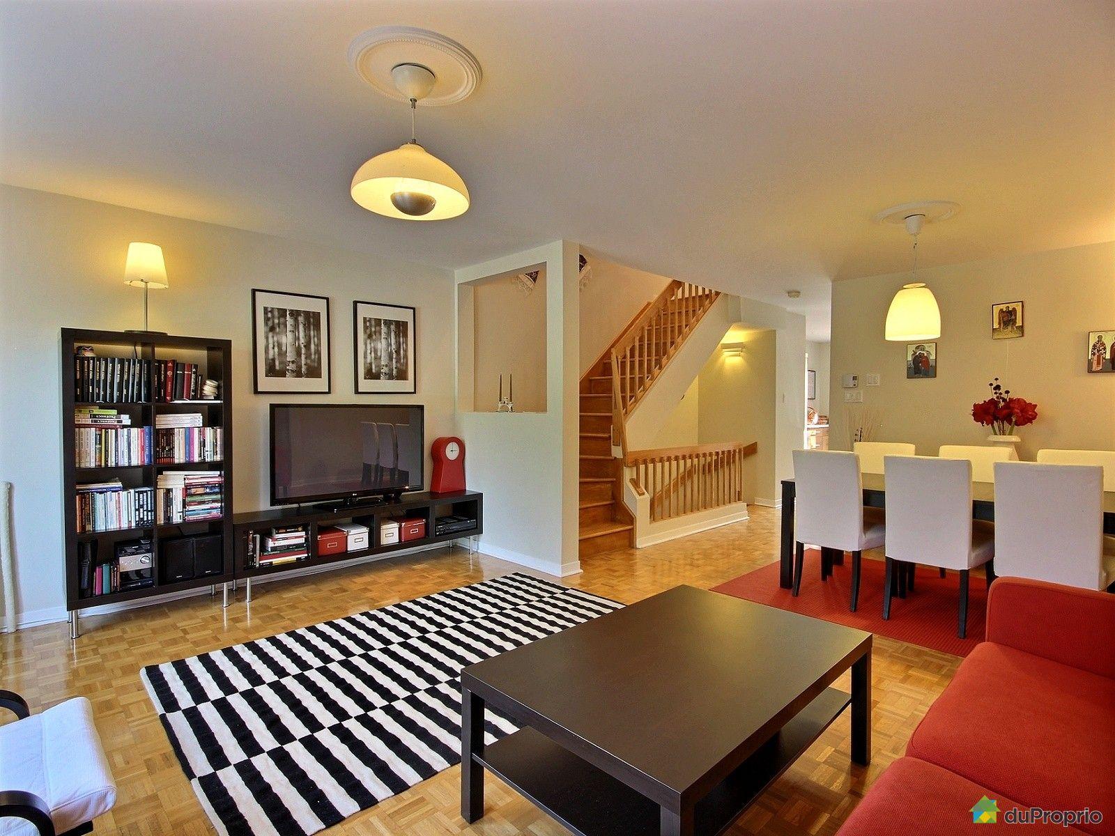 Maison vendu montr al immobilier qu bec duproprio 553352 for La salle a manger montreal