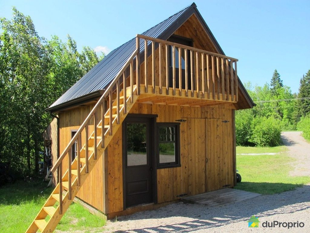 House for sale in lac k nogami 477 route des fondateurs for Large sheds for sale