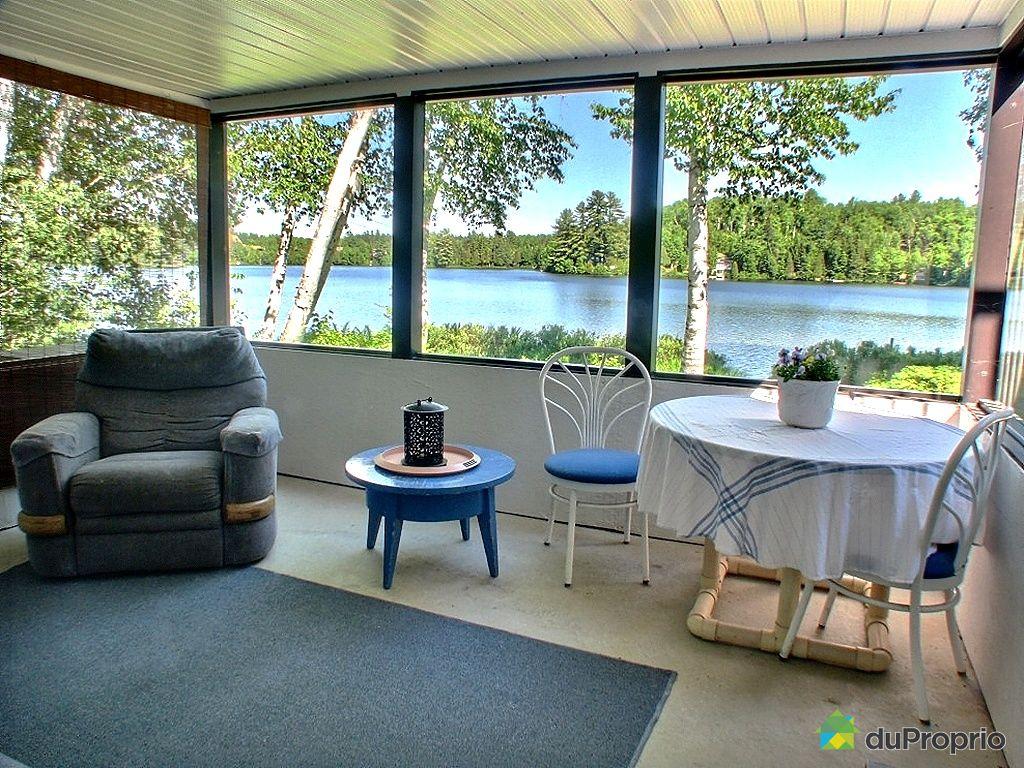 House for sale in st mathieu du parc 901 chemin lac for Solarium home