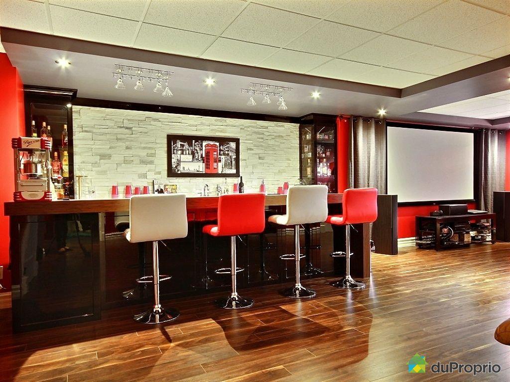 Maison vendu shannon immobilier qu bec duproprio 463632 for Deco pour bar maison