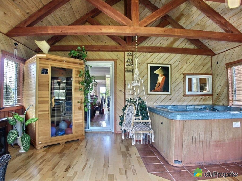 Maison vendre entrelacs 1081 1083 chemin des les immobilier qu bec dup - Maison a vendre a spa ...