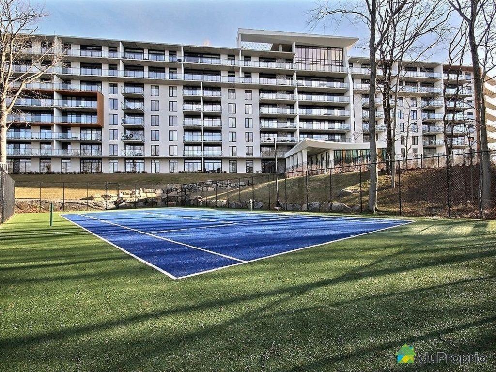 Condo vendre st augustin de desmaures 108 4957 rue for Longueur terrain de tennis