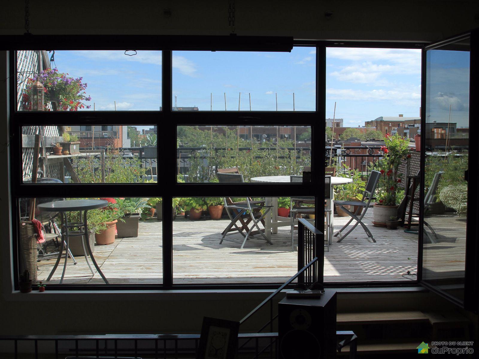 Loft vendre montr al 323 7145 rue saint urbain immobilier qu bec duproprio 686372 - Terrasse piscine montreal rouen ...