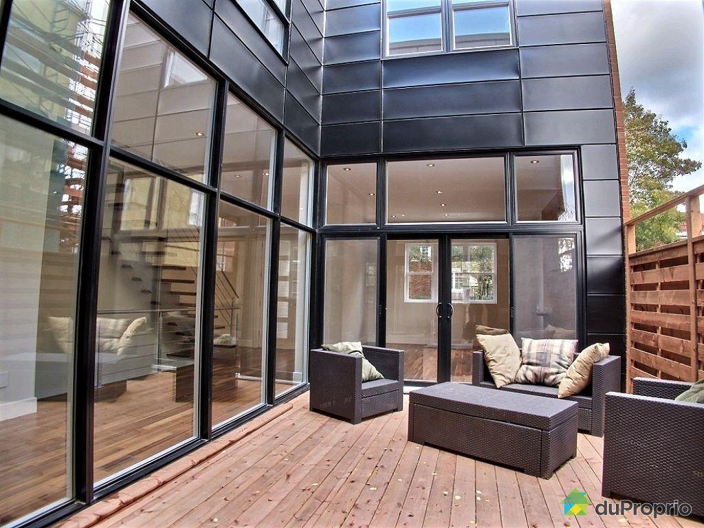Maison vendu montr al immobilier qu bec duproprio 435141 for Extension maison quebec