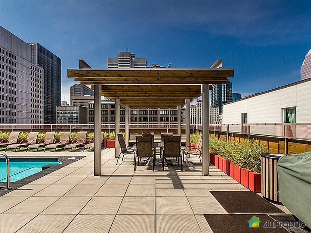 Condo vendu montr al immobilier qu bec duproprio 464406 for Appartement avec piscine montreal
