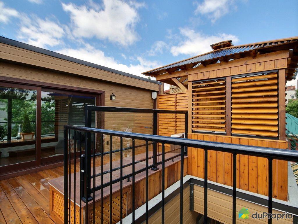 Condo vendre montr al 1017 rue saint hubert immobilier qu bec duproprio 526444 - Terrasse piscine montreal rouen ...
