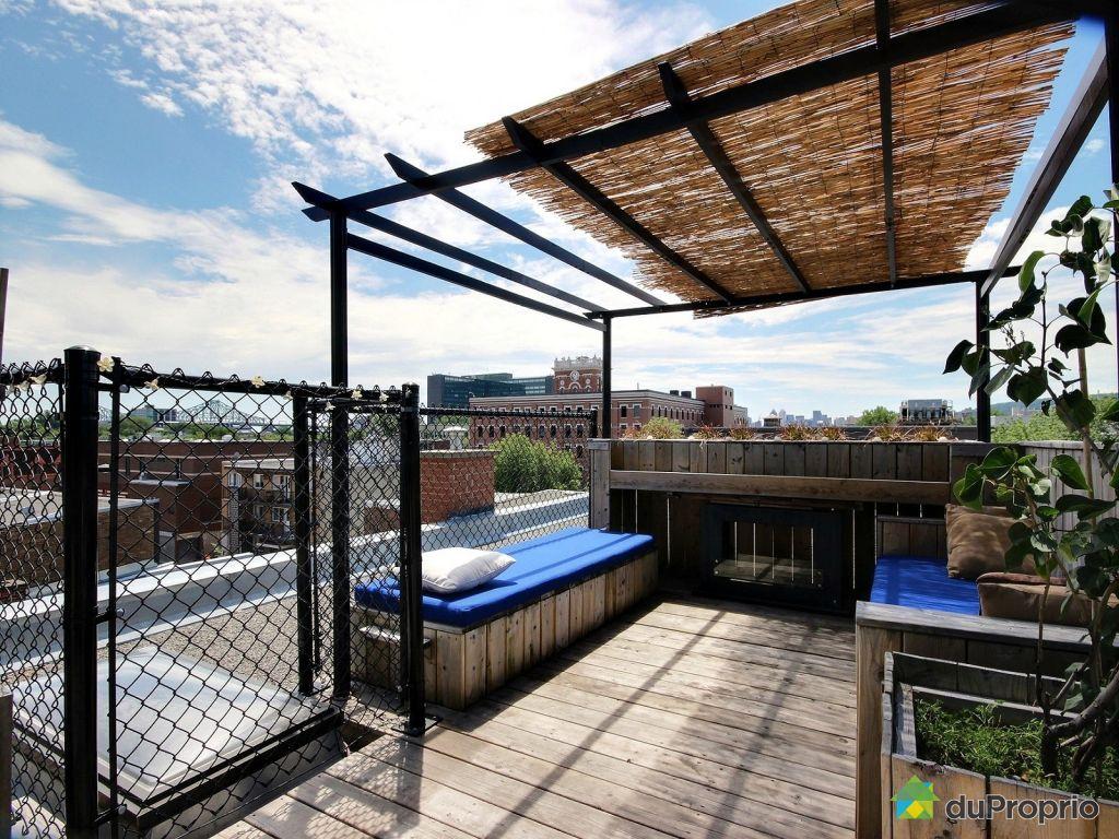 Condo vendu montr al immobilier qu bec duproprio 534335 - Terrasse piscine montreal rouen ...
