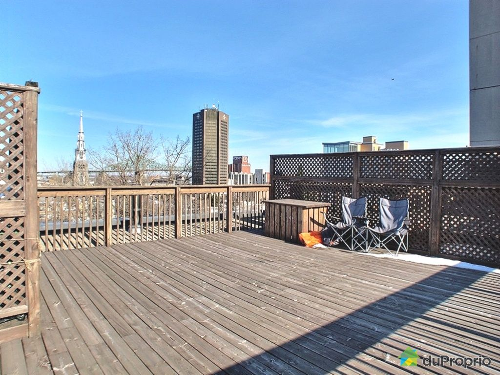 Loft vendu montr al immobilier qu bec duproprio 399235 - Terrasse piscine montreal rouen ...