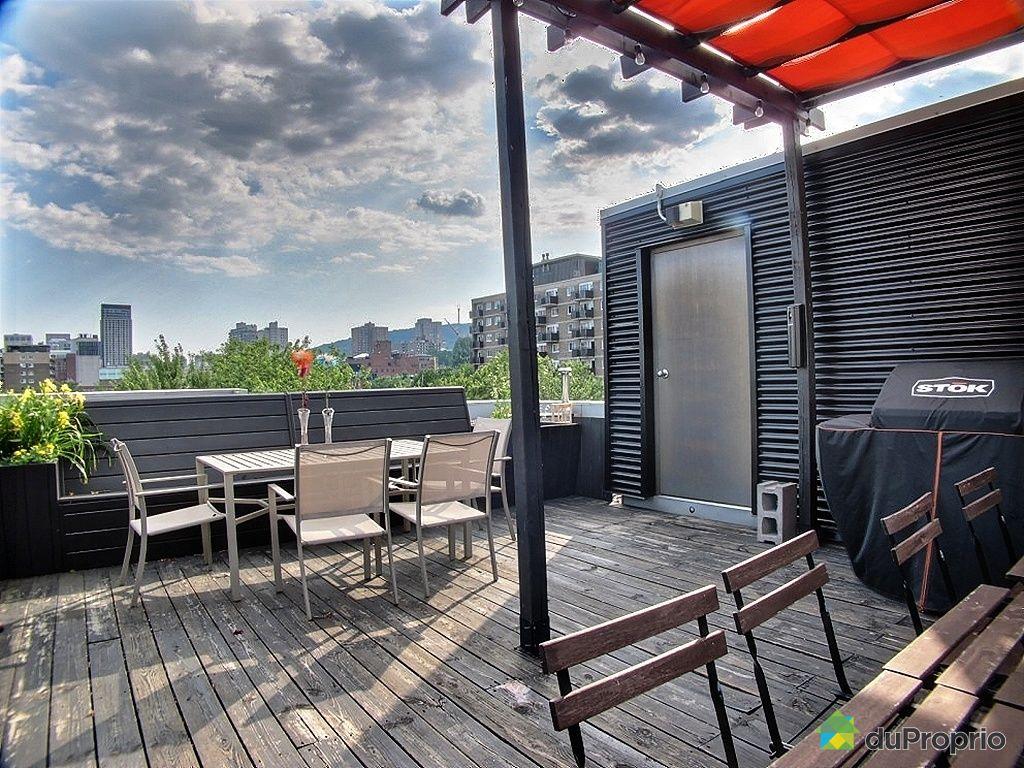 Terrasse Toit Montreal : Loft vendu Montr u00e9al, immobilier Qu u00e9bec DuProprio 293409