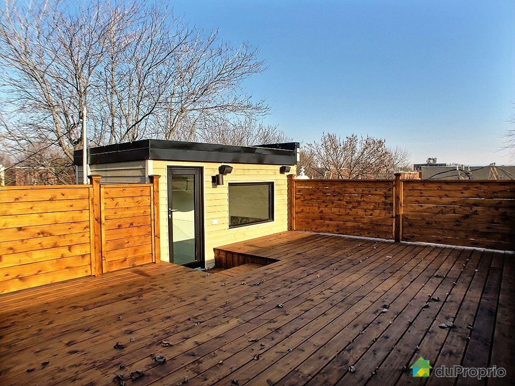 Terrasse Toit Montreal : Maison vendu Montr u00e9al, immobilier Qu u00e9bec DuProprio 380455