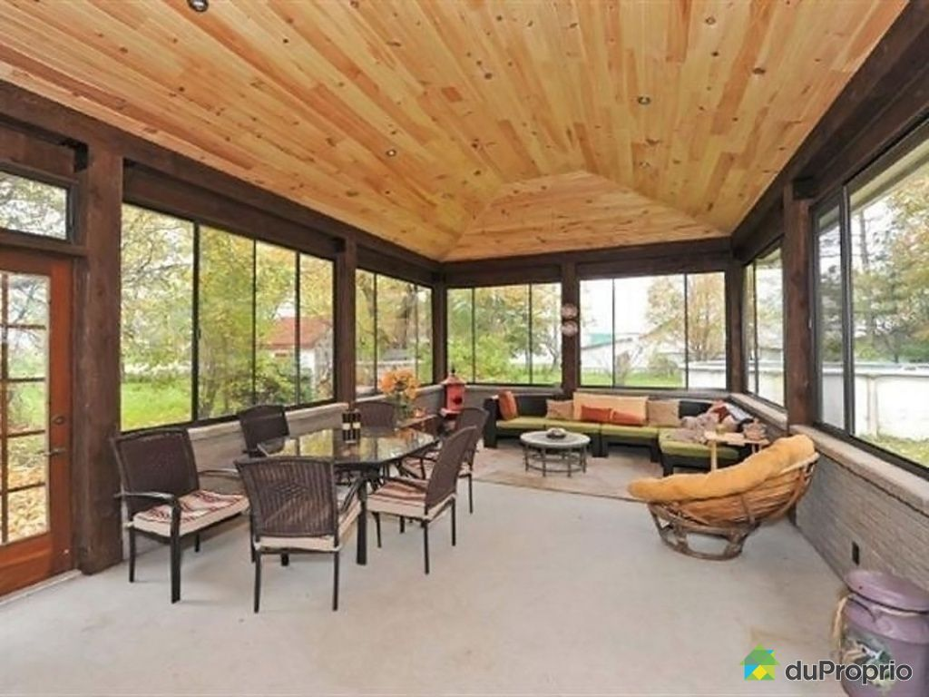 v randa coulissante vend e. Black Bedroom Furniture Sets. Home Design Ideas