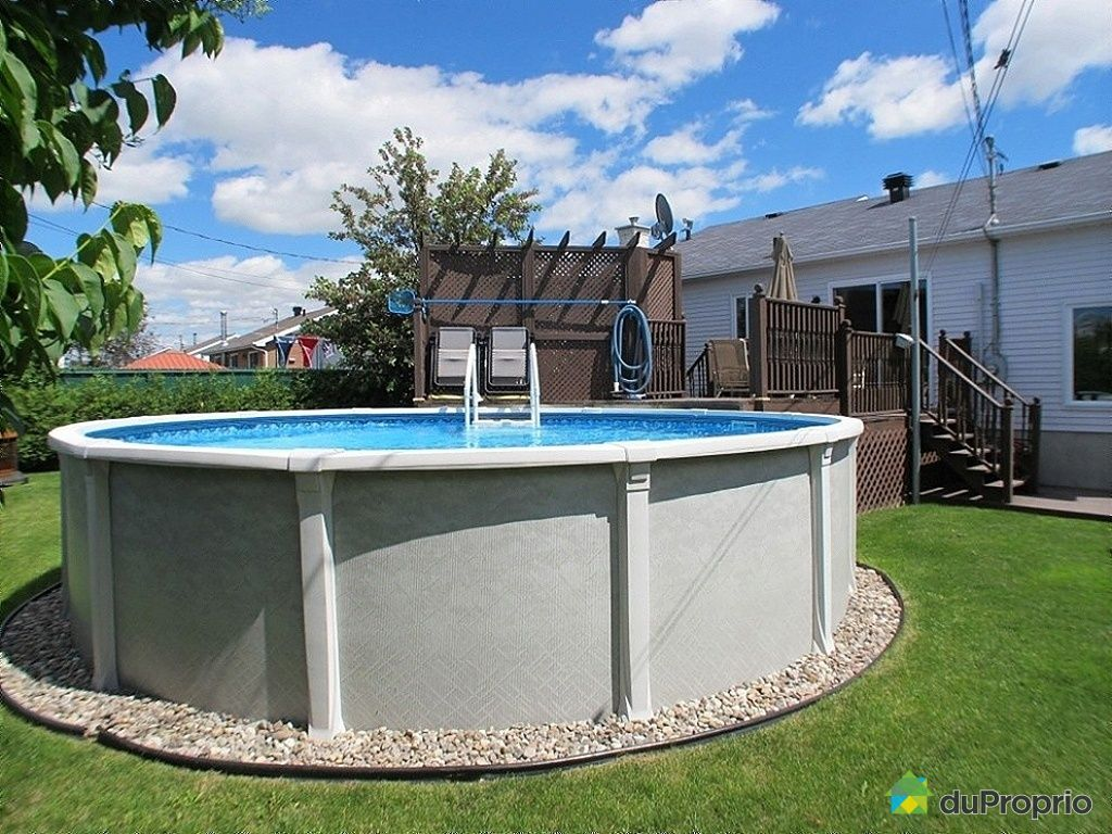 Maison vendu chambly immobilier qu bec duproprio 433249 for Piscine radiant quebec