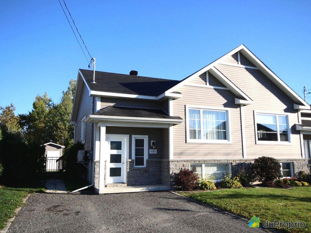 jumel vendre sherbrooke 4561 rue memphremagog immobilier qu bec duproprio 660276. Black Bedroom Furniture Sets. Home Design Ideas