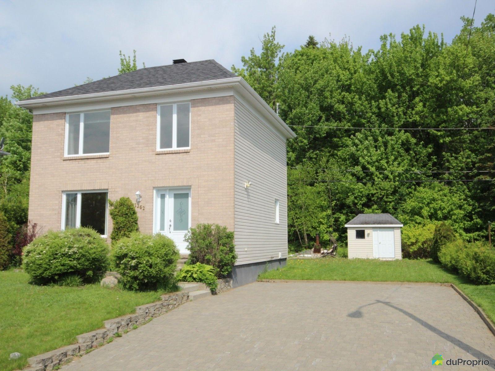 maison vendre val b lair 1262 rue du cachemire. Black Bedroom Furniture Sets. Home Design Ideas