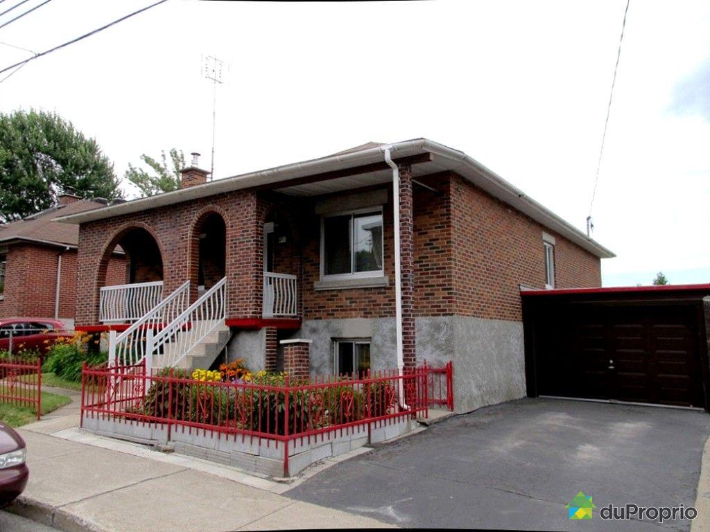 Maison vendu montr al immobilier qu bec duproprio 530039 for Alarme maison montreal
