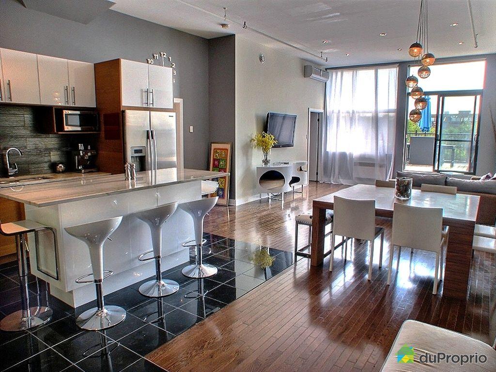 Loft vendu montr al immobilier qu bec duproprio 344128 for Immobilier loft