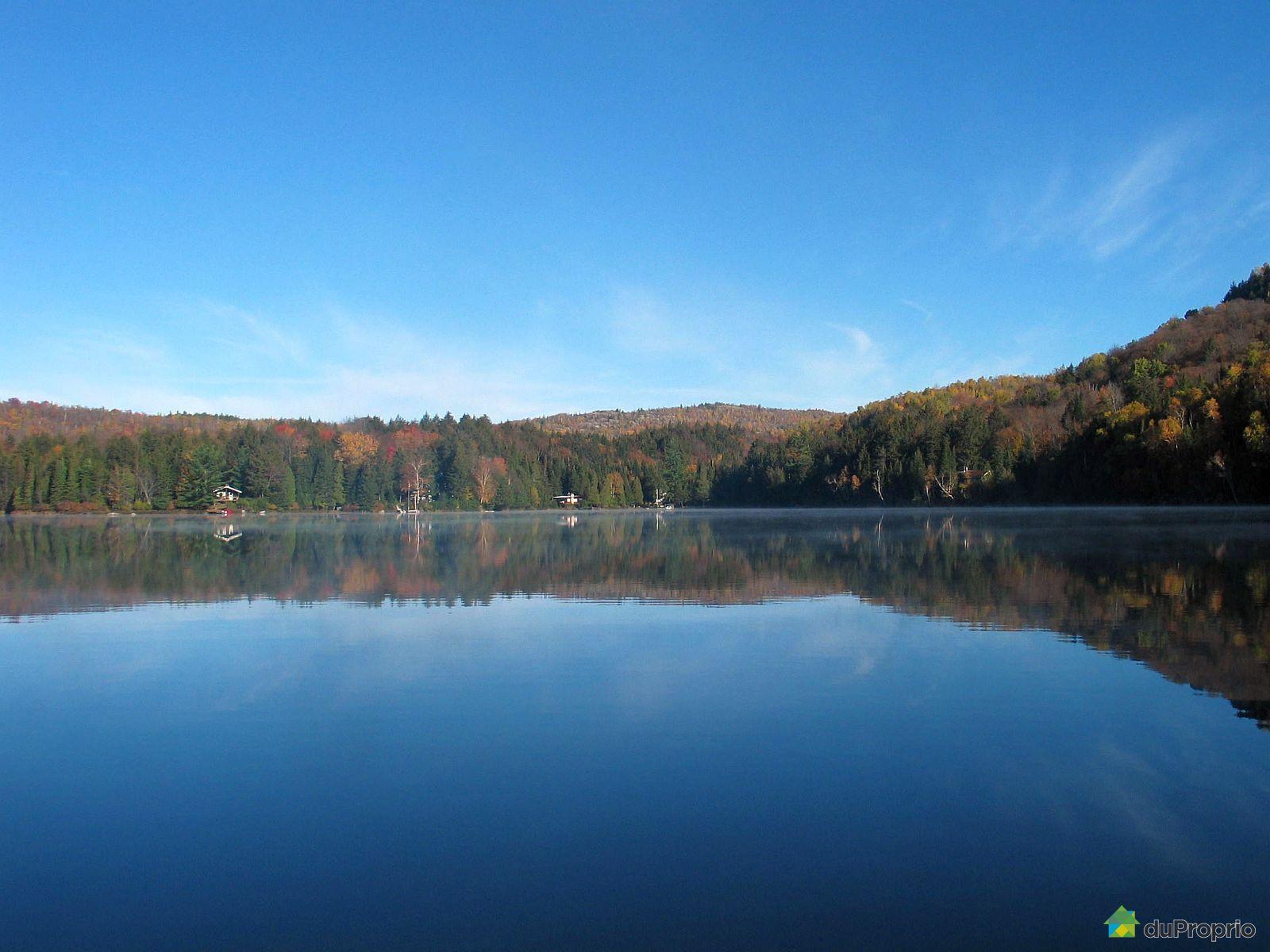 Chalet vendre mont tremblant 3202 rive du lac bibite for Lac miroir mont tremblant