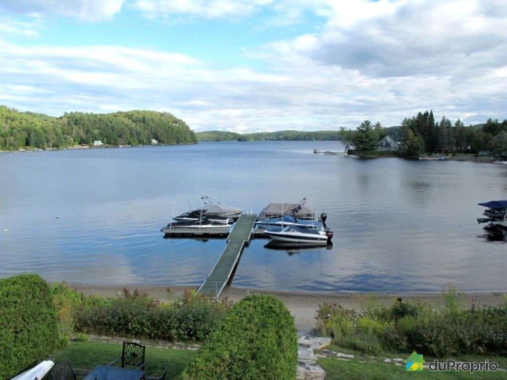 Lac achigan vendre proprietes etangs a for Acheter maison quebec canada